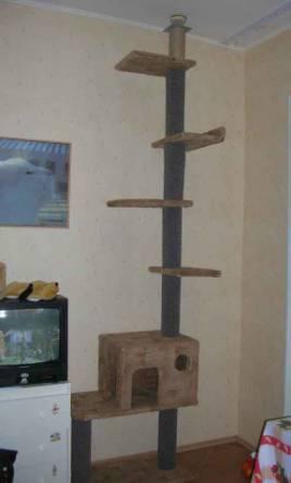 Домик для кошки своими руками из досок фото 581